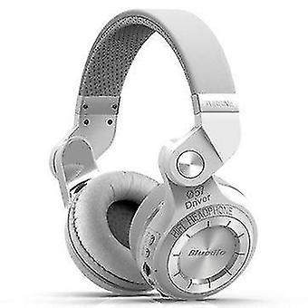Bluedio T2 Plus Foldable bluetooth Headphone BT 5.0 Support FM Radio
