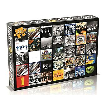 Beatles Album Covers Collage Puzzle (1000 Teile)