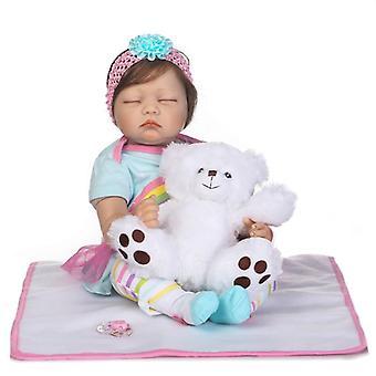 Szilikon újjászületett boneca realista baba babák divat baba gyerekeknek születésnapi ajándék bebes újjászületett babák gyerekek játékok