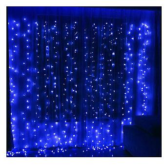 Twinkle Star 240 Led Window Curtain String Licht Kerst Bruiloft Party Home