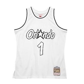 Mitchell & Ness Orlando Magic Penny Hardaway 19941995 Swingman SMJYLF19033OMAWHIT94PHA koripallo koko vuoden miesten t-paita