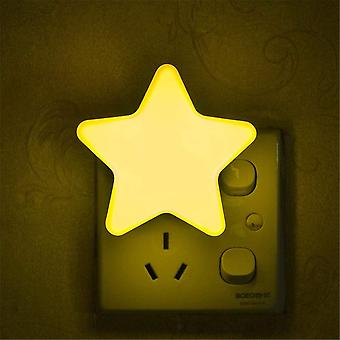 Automatic Electric Socket Wall-mounted Night Light With Induction Light