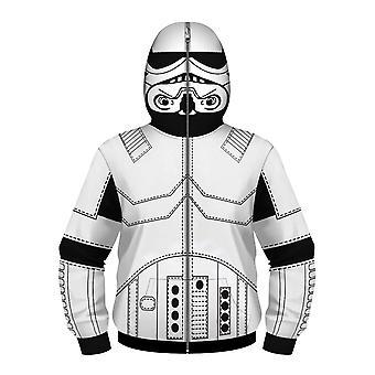 Langarm Hoodies Sweatshirts mit vollem Reißverschluss