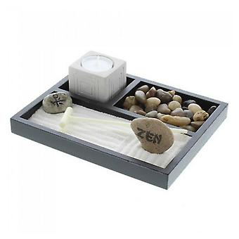Accent Plus Zen Garden with Candle Holder, Pack of 1