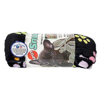 "Spot Snuggler Rainbow Pawprint Pet Blanket - 30"" x 40"""