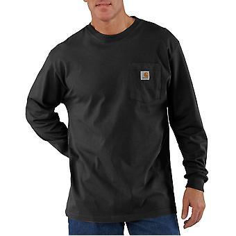 Carhartt Camicia uomo a maniche lunghe Loose Fit Heavyweight T-Shirt tasca a maniche lunghe