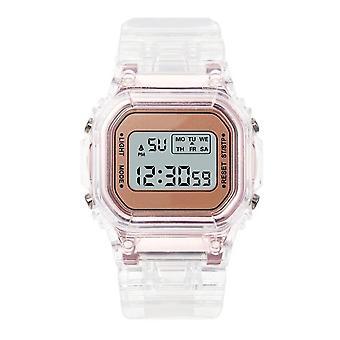 Waterproof Multi-function Luminous Alarm Watch And