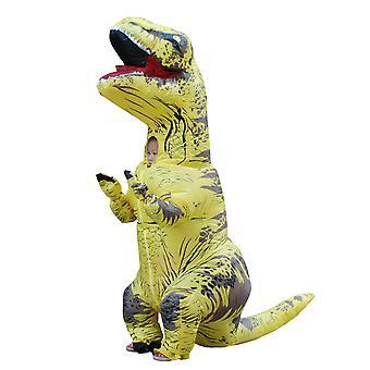 Yellow Children Tyrannosaurus Rex Inflatable Clothing Children's Dinosaur Costume