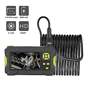 Lcd Handheld Industrial Borescope 4.3 Inch Hd 1920x1080p Digital Borescope Colorful Screen 8.0mm-mn02