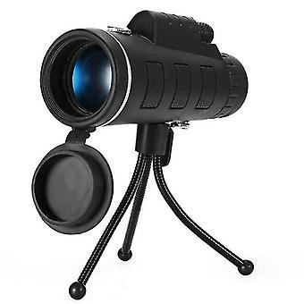 Day / Night 40x60 Zoom Optics Hdlens Monocular Telescope Starscope Hunting Camping