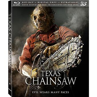 Texas Chainsaw 3D [BLU-RAY] USA importar