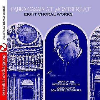 Pablo Casals - Pablo Casals en Montserrat: importación de Estados Unidos ocho obras corales [CD]