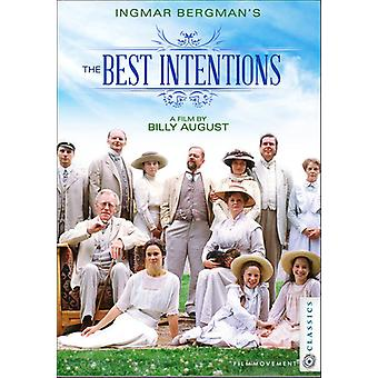 Best Intentions [DVD] USA import
