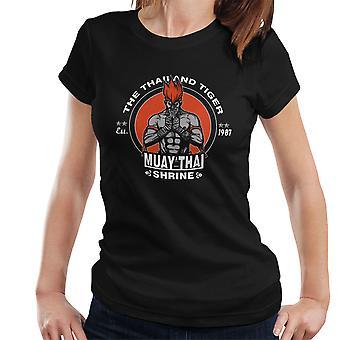 The Thailand Tiger Adon Street Fighter Women's T-Shirt