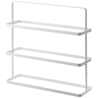 Yamazaki Tower Steel Shoe Rack - 3 Tier - White