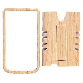Rocker cellulaire illimité Snap-On Case for Samsung Galaxy S4 (lumière bois Patern)