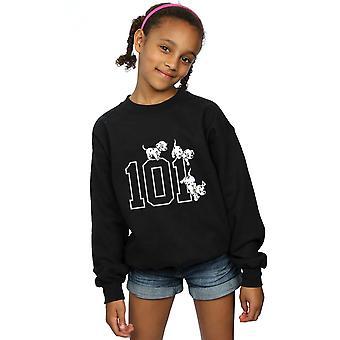 Disney Mädchen 101 101 Dalmatiner Hunde Sweatshirt