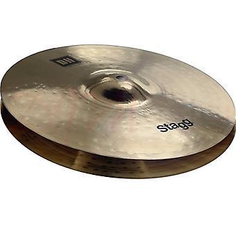 Stagg 13inch Brilliant Medium Hi-Hat Cymbal