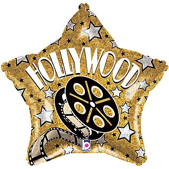 Oaktree Betallic 19 Inch Hollywood sterren ballon