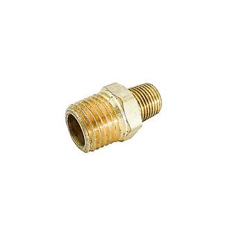 "Brassfittings 119c 0.25 ""x 0.12"" צינור כמפחית"
