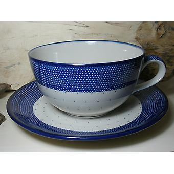 XXL single piece! Cup with saucer, 4 l vol., unique 18 - BSN 6428