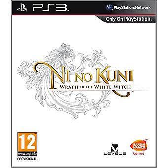 Ni no kuni-Wrath fra den hvide heks (PS3)-ny