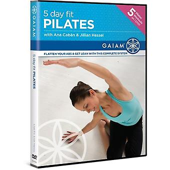 5 Day Fit: Pilates [DVD] USA import