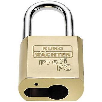 Burg Wächter Profi 116 PC 50 Padlock Brass EU cylinder padlock