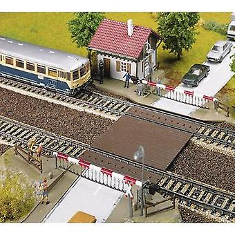 Faller 120174 H0 Railway crossing and attendants hut Assembly kit