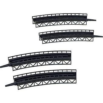 Faller 282905 Z Approach slabs 1-rail Universal