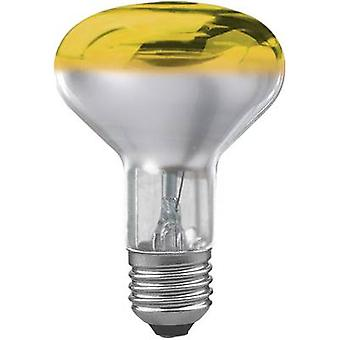 Paulmann Light bulb EEC: E (A++ - E) 116 mm 230 V E-27 60 W Yellow Reflector bulb dimmable Content 1 pc(s)
