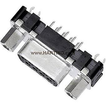 Harting 09 66 351 6512-receptáculos SUB 180 ° número de pernos: 25 PC 1 de soldadura