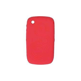 OEM BlackBerry 8520, 8530, 9330 kohokuvioitu iho tapauksessa Butterfly Coral