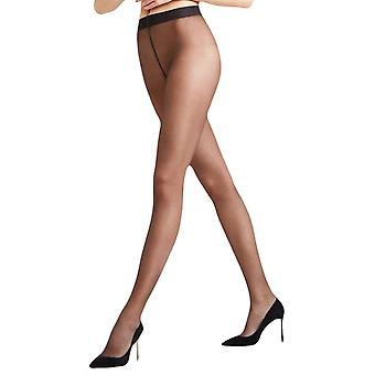 Falke Seidenglatt 15 Den Transparent brillant collants - Anthracite Gey