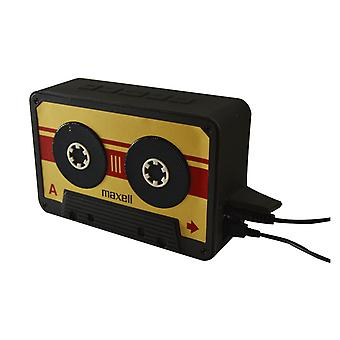 Maxell BT90 Retro Cassette Bluetooth v 4.1 Speaker Gold/Black