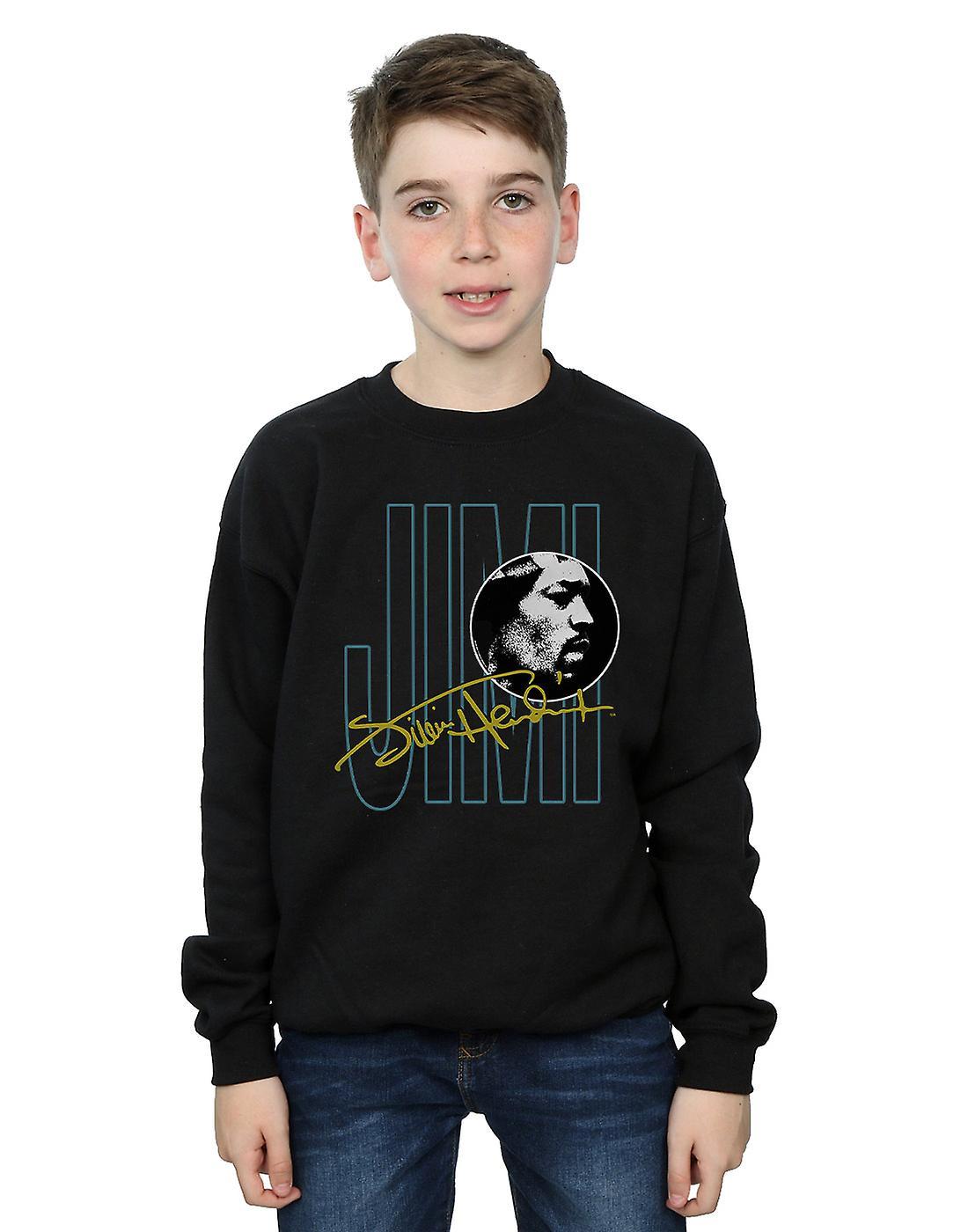 Jimi Hendrix Boys Jimi Signature Sweatshirt