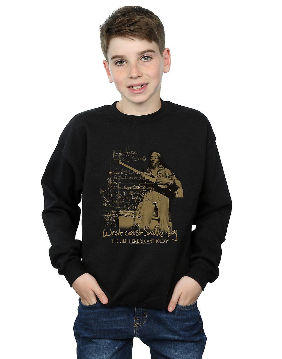 Jimi Hendrix Boys West Coast Seattle Boy Sweatshirt