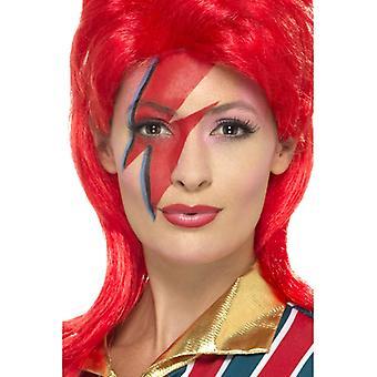 Superstar de l'espace maquillage kit, avec de la peinture de visage