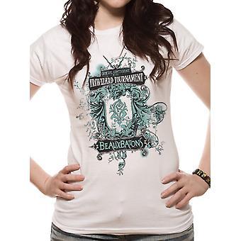 Harry Potter - Beauxbatons  T-Shirt, Kvinnor
