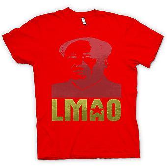 Мужская футболка - LMAO Председатель Мао - смешно