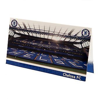 Chelsea FC Stadium Birthday Card
