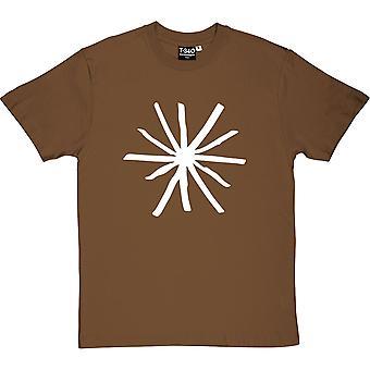 Kurt Vonnegut rövhål mäns T-Shirt