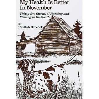 Min hälsa är bättre i November