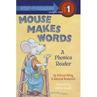 Mouse Makes Words: A Phonics Reader (Step Into Reading - Level 1 - Quality)