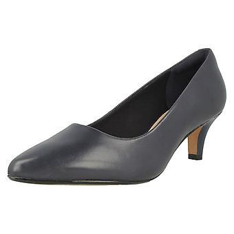 Clarks senhoras apontam o Tribunal Toe sapatos Linvale Jerica