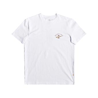 Quiksilver Waterman Aztec Fish Short Sleeve T-Shirt in White