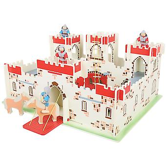 Bigjigs Toys Heritage Playset King Arthur's Castle