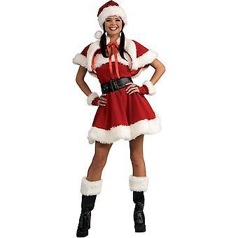 Encantador disfraz de adulto de Santa