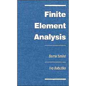 Finite Element Analysis by Szabo