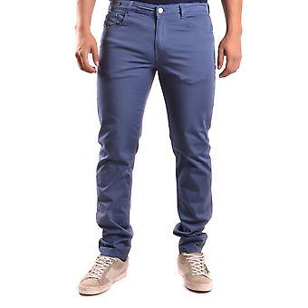 Pt05 Ezbc084026 Men's Blue Cotton Jeans